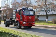 解放牌CA4180P63E2M5型平头天然气半挂牵引汽车图片
