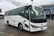 金龙牌XMQ6802AYPHEVD5型混合动力客车图片