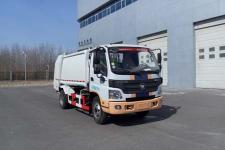 亚洁牌BQJ5080ZYSE5型压缩式垃圾车