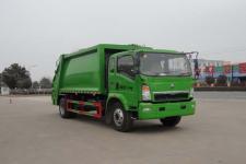 国五重汽轻卡压缩式垃圾车