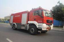 中卓时代牌ZXF5180GXFJX60型机场消防车