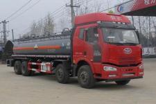 CLW5317GFWC5型程力威牌腐蚀性物品罐式运输车图片