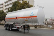 AKL9408GRYB型开乐牌铝合金易燃液体罐式运输半挂车图片
