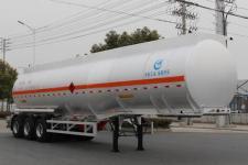 AKL9408GRYA型开乐牌铝合金易燃液体罐式运输半挂车图片