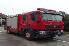 五岳牌TAZ5144TXFJY90型抢险救援消防车