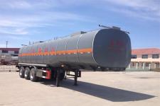 华昌牌QDJ9406GRYA型易燃液体罐式运输半挂车