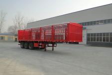 华鲁业兴10.5米30.5吨3轴畜禽运输半挂车(HYX9370CCQ)