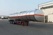 华宇达牌LHY9400GRYA型铝合金易燃液体罐式运输半挂车