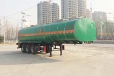 华昌牌QDJ9404GRYA型易燃液体罐式运输半挂车