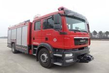 天河牌LLX5174GXFAP40/M型压缩空气泡沫消防车