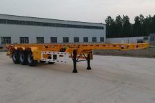 梁郓牌SLY9381TJZD型集装箱运输半挂车图片