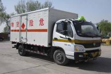 福庆天王牌ZFQ5041XRQBJ型易燃气体厢式运输车