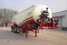 万事达11.3米28.2吨3轴低密度粉粒物料运输半挂车(SDW9404GFL)