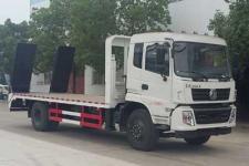 国五东风15吨挖机平板运输车平板车