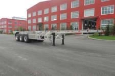 路斯牌MBS9401TJZLH型铝合金集装箱运输半挂车图片