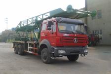 胜工牌FRT5250TLF18G5型立放井架车