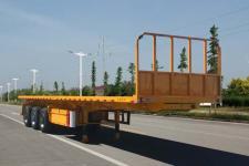 华威翔运牌CYX9403ZZXP型平板自卸半挂车图片