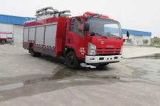 天河牌LLX5074TXFZM70/L型照明消防车