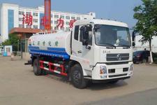 中汽力威牌HLW5180GPS5DF型绿化喷洒车图片