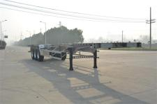 欧曼牌HFV9403TJZA型铝合金集装箱运输半挂车图片
