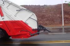 恒润牌HHR5180ZYS5HQ型压缩式垃圾车图片
