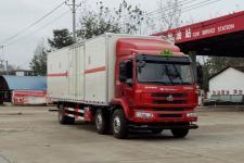 程力威牌CLW5250XRYL5型易燃液体厢式运输车