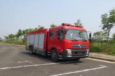 江特牌JDF5154GXFPM60型泡沫消防车