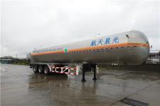 三力牌CGJ9404GDY02型低温液体运输半挂车