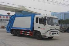 程力威牌CLW5251ZYSE5型压缩式垃圾车