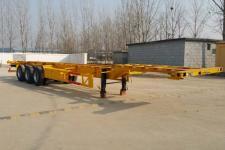 劲越牌LYD9405TJZ型集装箱运输半挂车