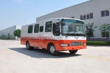 华美牌LHM5125TSJ型试井车