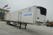 中原冷谷牌YTL9402XLC型冷藏半挂车图片