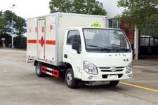 程力威牌CLW5030XRQNJ5型易燃气体厢式运输车