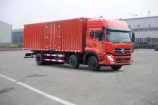 东风商用车国四前四后四厢式运输车211-269马力10-15吨(DFL5253XXYAX1B)