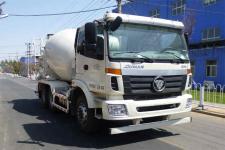欧曼牌BJ5253GJB-XC型混凝土搅拌运输车