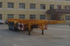 通亚达牌CTY9350TJZG40型集装箱运输半挂车图片