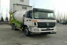 欧曼牌BJ5253GJB-AB型混凝土搅拌运输车