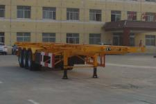 通亚达牌CTY9383TJZG40型集装箱运输半挂车图片