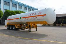 久远牌KP9404GDYNA型低温液体运输半挂车