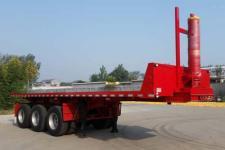 恩信事业牌HEX9407ZZXP型平板自卸半挂车