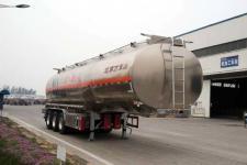 万事达牌SDW9402GYYC型铝合金运油半挂车