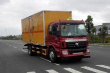 福田欧曼国五6米2易燃气体厢式运输车