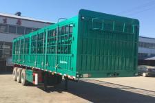 金君卫牌HJF9370CCYA型仓栅式运输半挂车图片