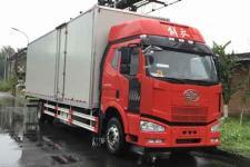 一汽解放国五单桥厢式运输车284马力5-10吨(CA5160XXYP63K1L9E5)