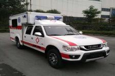 庆铃牌QL5032XJHBWWSJ型救护车图片