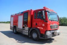 天河牌LLX5184GXFPM60/T5G型泡沫消防车