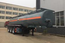 程力威牌CLW9409GFWB型腐蚀性物品罐式运输半挂车