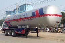 程力威12.7米23.5吨3轴液化气体运输半挂车(CLW9400GYQC)