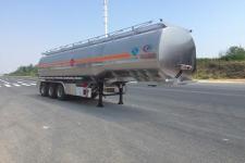 程力威牌CLW9405GYYLV型铝合金运油半挂车