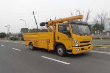 英达牌FTT5080TWG型挖掏式管道疏通车图片